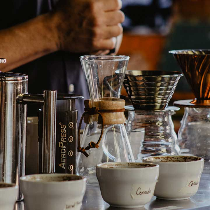 ateliers café